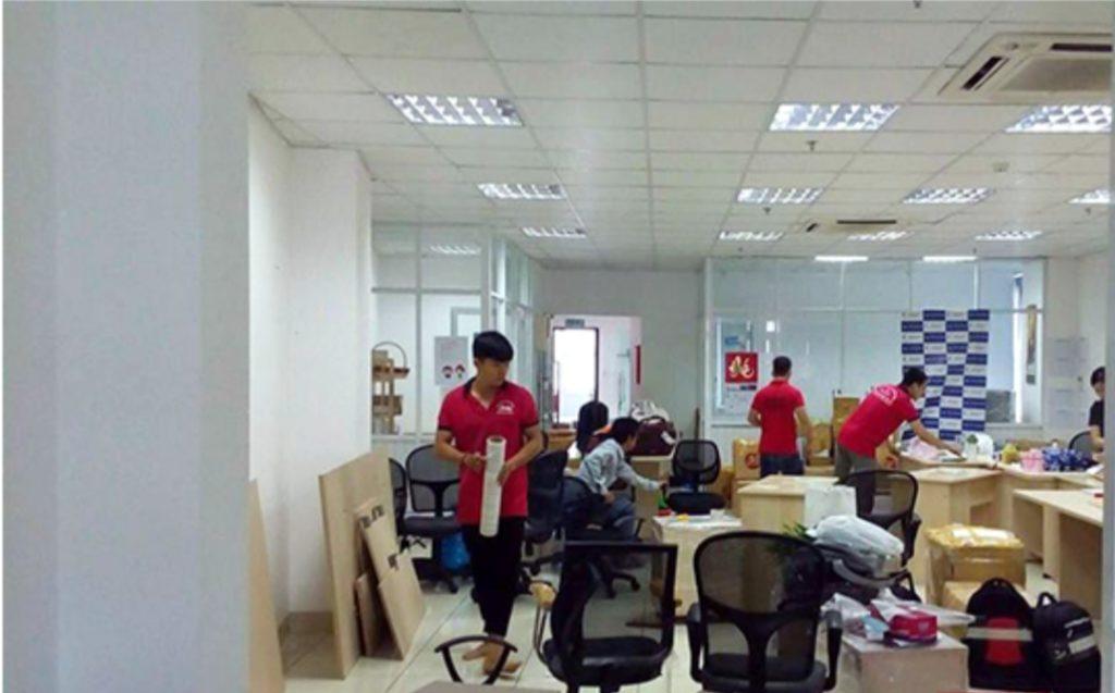 Chuyển dịch vụ chuyển văn phòng Thành Hưng