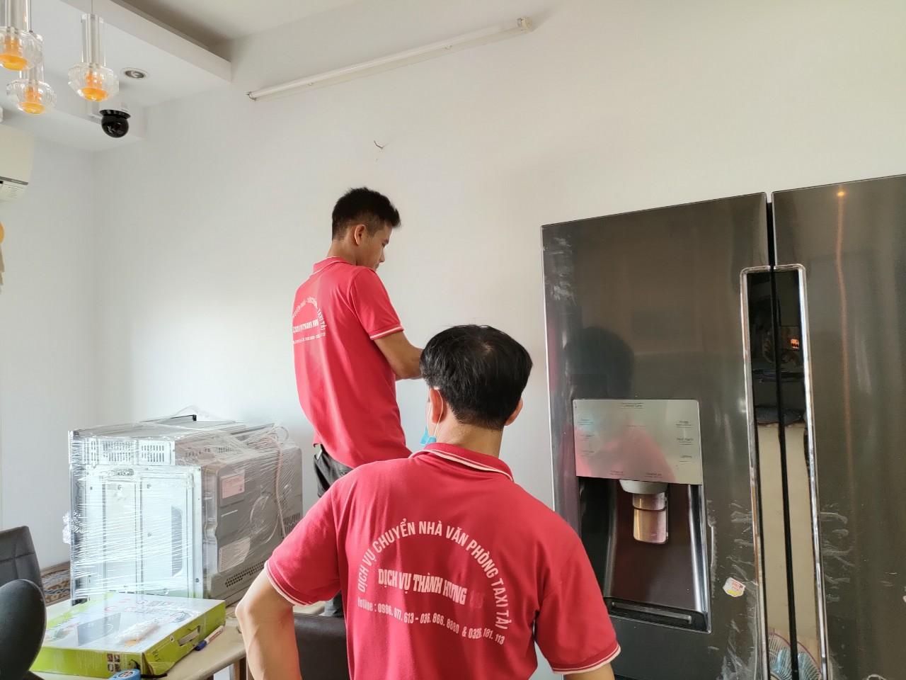 Dịch vụ chuyển văn phòng trọn gói tại Hà Nội - Thành Hưng