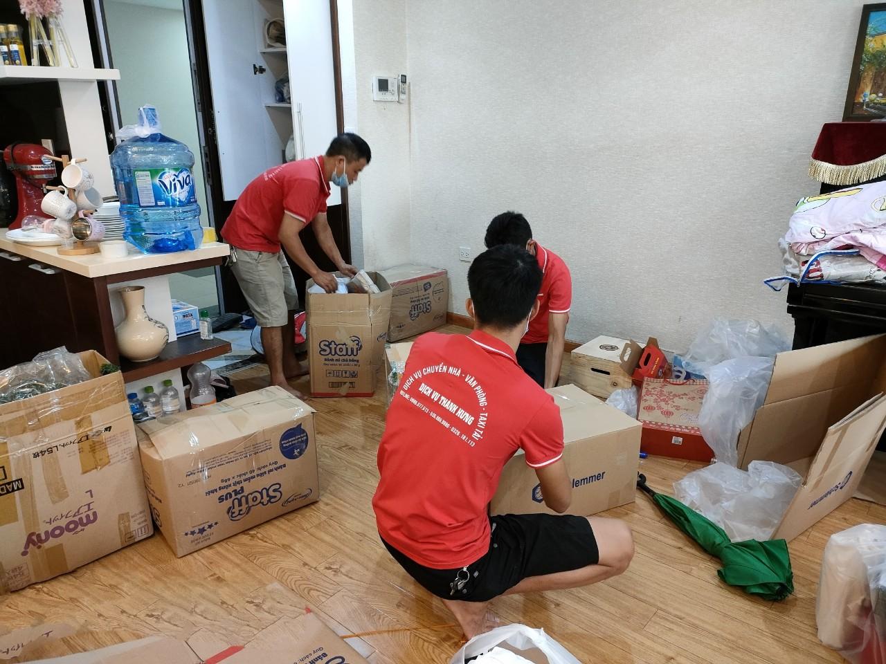 Dịch vụ chuyển nhà trọn gói tại Hà Nội - chuyển nhà Thành Hưng