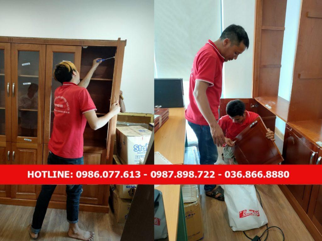 Dịch vụ chuyển văn phòng trọn gói Thành Hưng