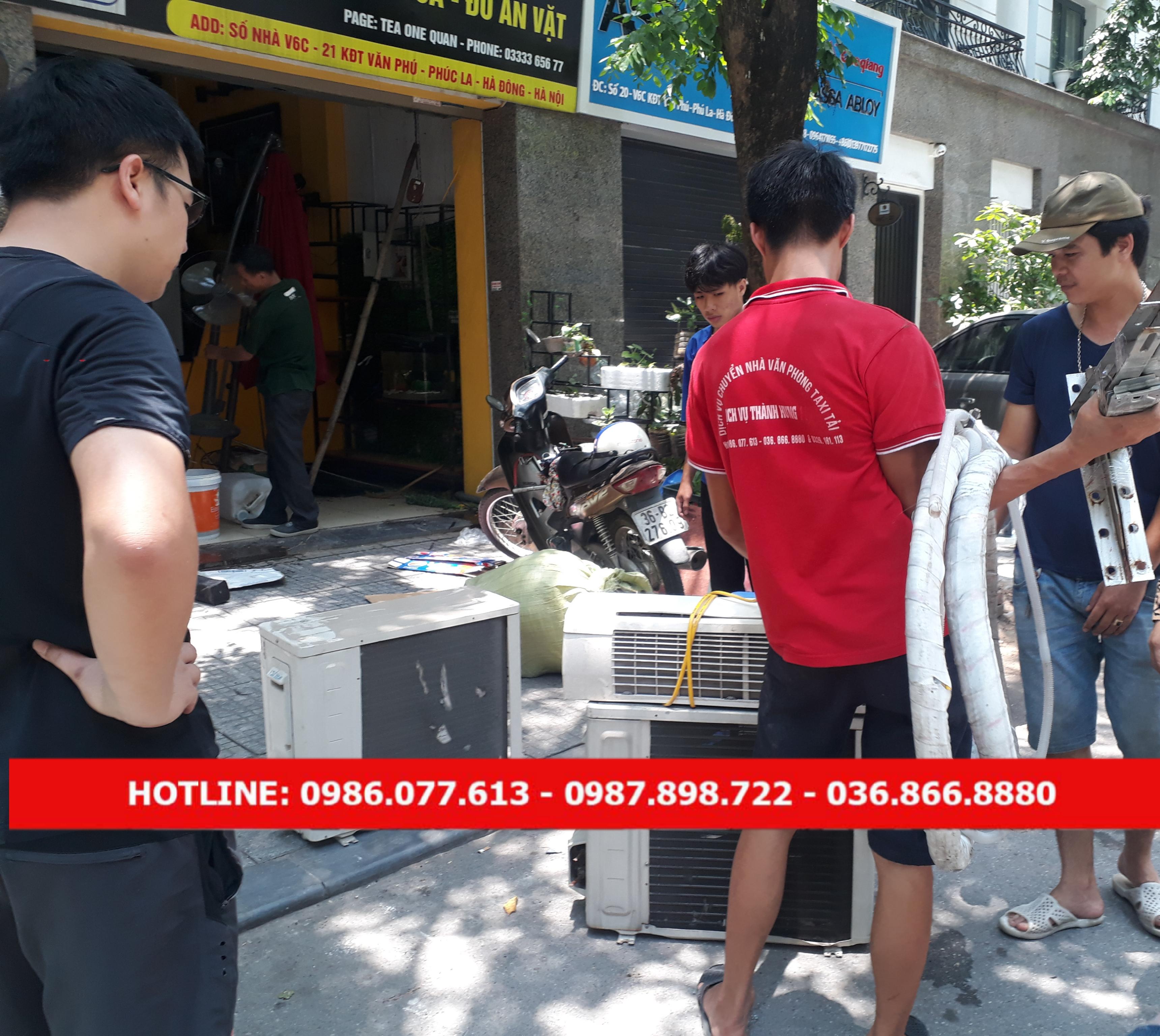 Dịch vụ tháo lắp điều hòa giá rẻ