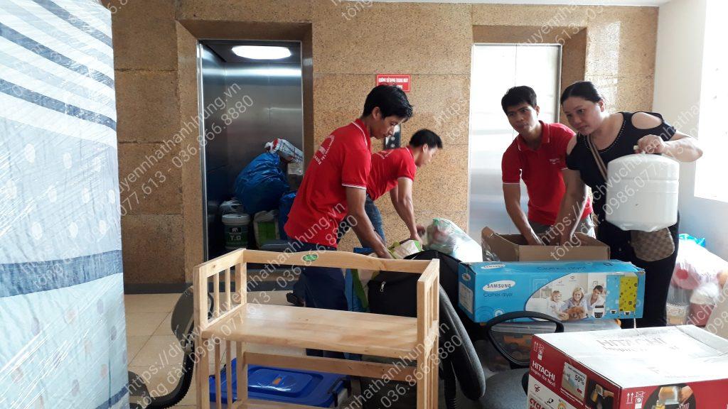 Dịch vụ chuyển nhà trọn gói Thành Hưng