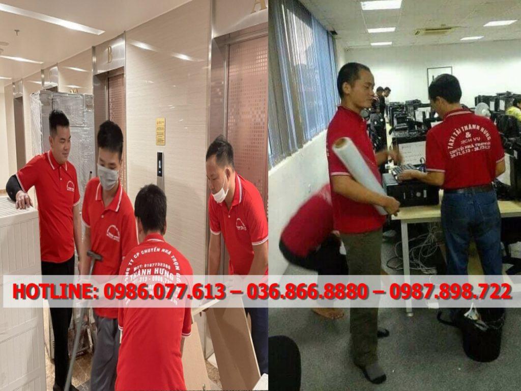 Dịch vụ chuyển văn phòng giá rẻ Hà Nội
